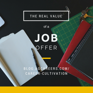 the real value in a job offer