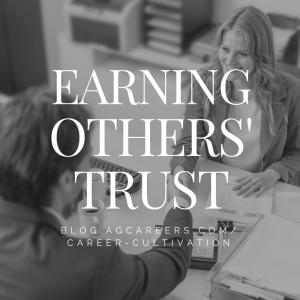 EARNING OTHERS' TRUST