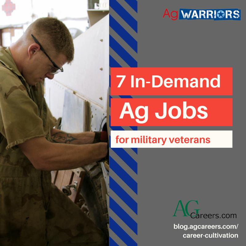 7 high demand ag jobs for veterans career cultivation. Black Bedroom Furniture Sets. Home Design Ideas