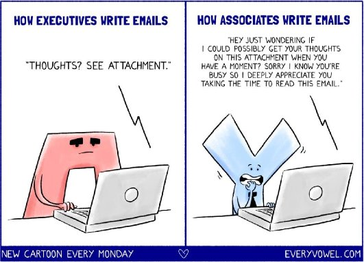 A Lesson in Business Email Etiquette   Career Cultivation ...