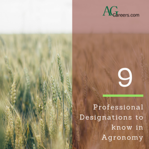 professional designations to know in agronomy