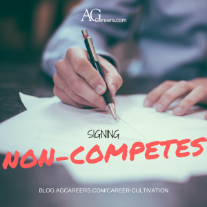 SIGNING A NON-COMPETE
