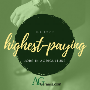 5 highest-paying jobs in agriculture