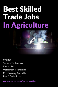 best skilled trade jobs in agriculture