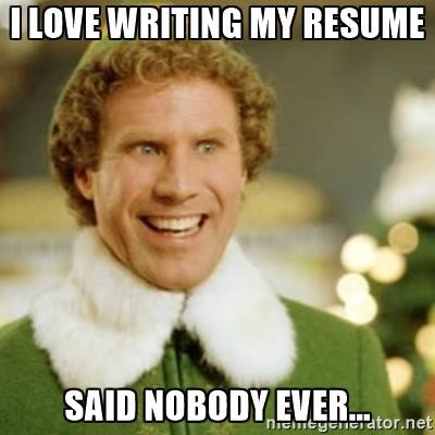 updating your resume