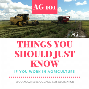 ag 101 things you should know if you work in agriculture