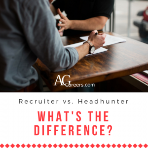 recruiters vs. headhunters