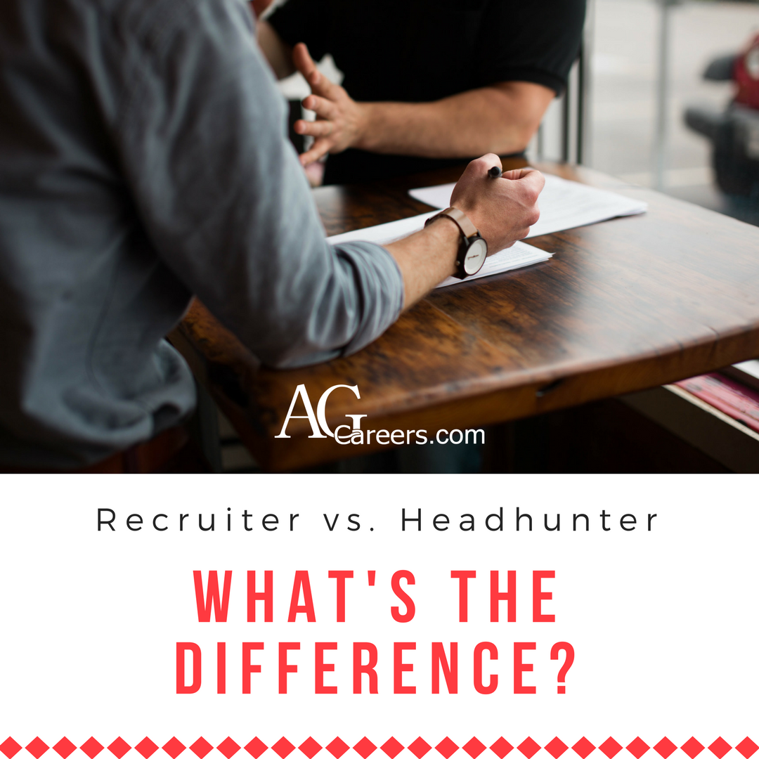 how are headhunters different from recruiters