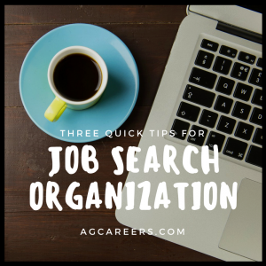 job search organization