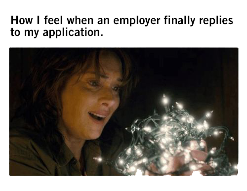 stranger things job searching