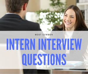 intern interview questions