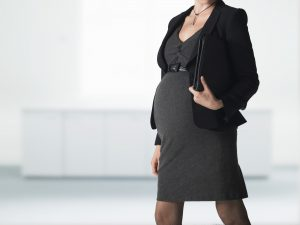 job searching while pregnant