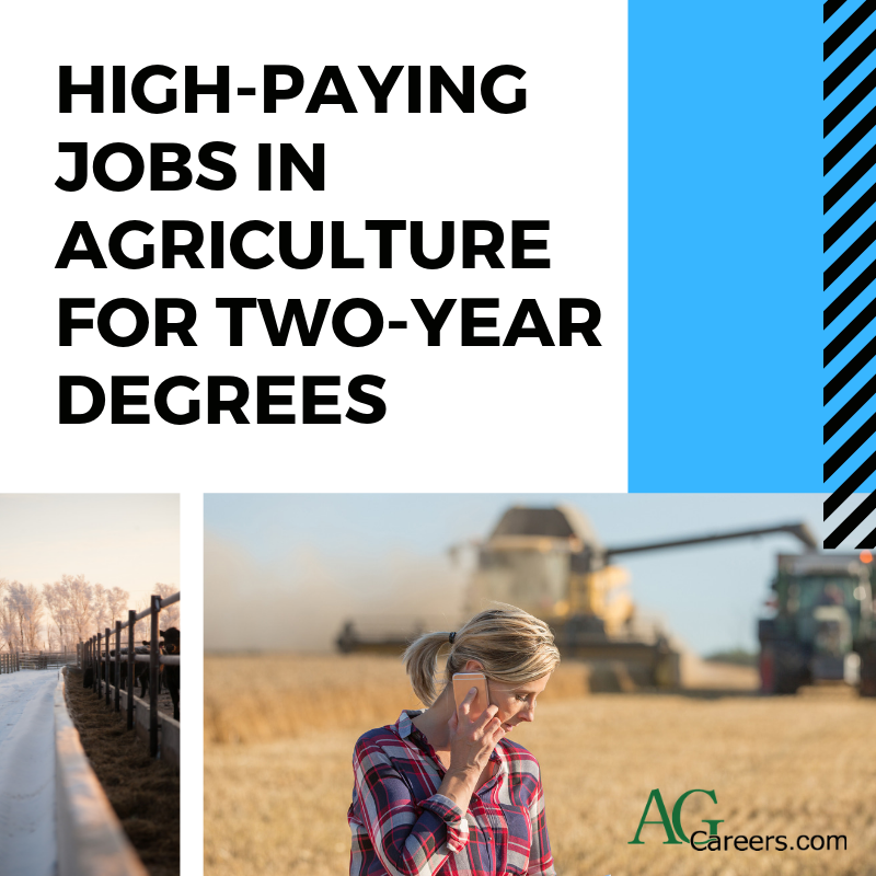 two-year agriculture degrees
