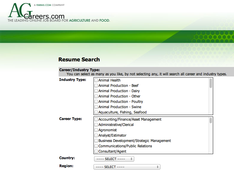 using an online resume database wisely talent harvest