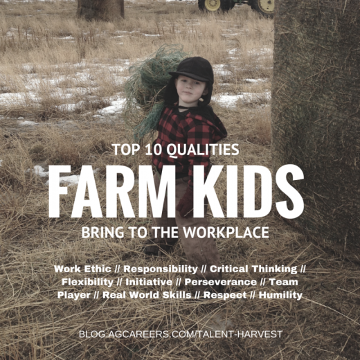 Top 10 qualities farm kids bring to the workplace