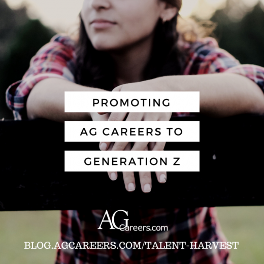 promoting AG CAREERS to generation z