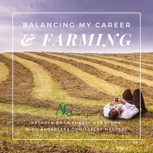 balancing my office job and farming