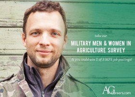 employing military veterans into agriculture