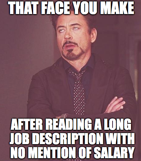 Listing salary