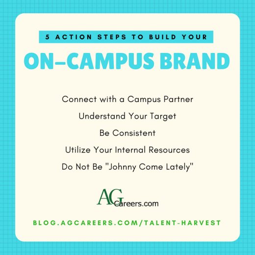 build your on-campus brand