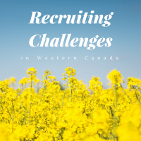 recruiting challenges in western canada