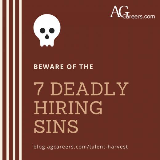 7 deadly hiring sins