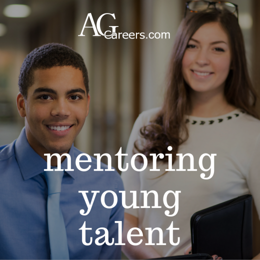 mentoring young talent