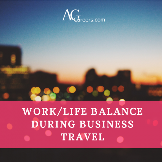 work/life balance business travel
